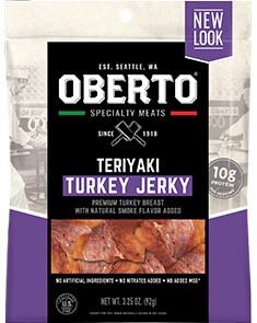 All Natural Teriyaki Turkey Jerky