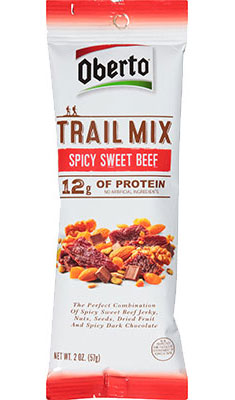 Spicy Sweet Beef Jerky Trail Mix