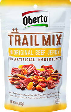 Image of Original Beef Jerky Trail Mix packaging