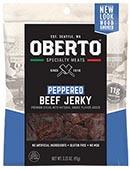 All Natural Peppered Beef Jerky - Click for More Information