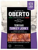 All Natural Teriyaki Turkey Jerky - Click for More Information