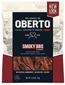 All Natural BBQ Seasoned Pork Jerky - Click for More Information