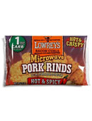 Hot & Spicy Microwave Pork Rinds - Click for More Information
