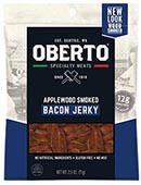All Natural Applewood Smoked Bacon Jerky - Click for More Information