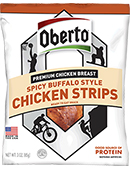 Spicy Buffalo Style Chicken Strips - Click for More Information