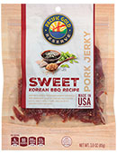Pacific Gold Reserve Sweet Korean BBQ Pork Jerky [obo-606764.jpg] - Click for Details