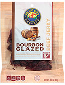 Pacific Gold Reserve Bourbon Glazed Beef Jerky [obo-606825.jpg] - Click for Details