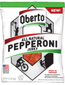 All Natural Pepperoni Jerky - Click for More Information