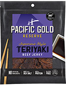Pacific Gold Reserve Japanese Style Teriyaki Beef Jerky [obo-608034.jpg] - Click for Details