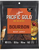 Pacific Gold Reserve Bourbon Glazed Beef Jerky [obo-608058.jpg] - Click for Details