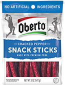Cracked Pepper Snack Sticks - Click for More Information